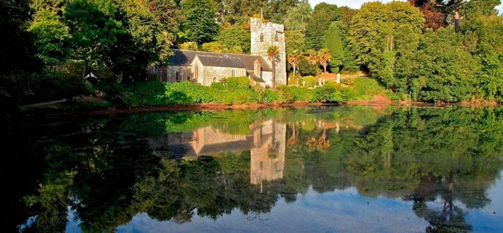 Saint-Just-in-Roseland church