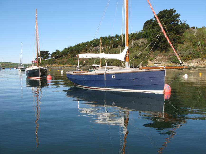 Sailing Fal river