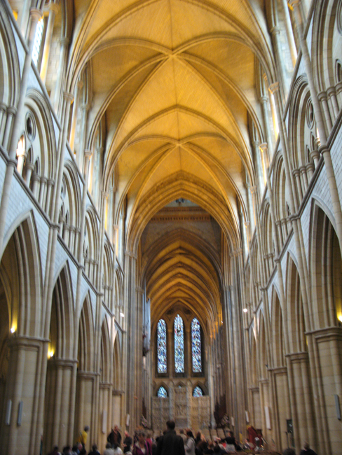 Truro magnificent Cathedral and Organ