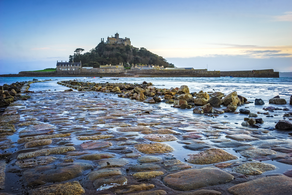 The Impressing & well-known St Michael's Mount