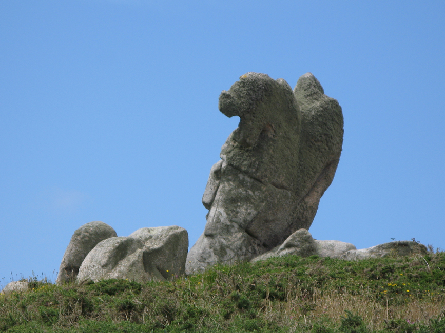 Wind stone formations