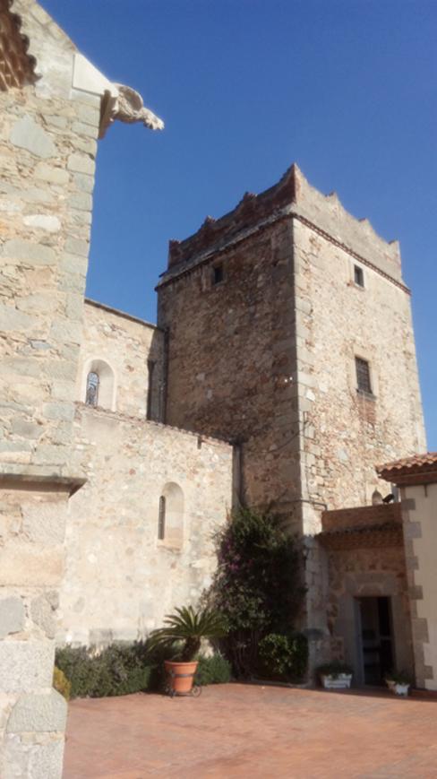 St. Julià Church courtyard