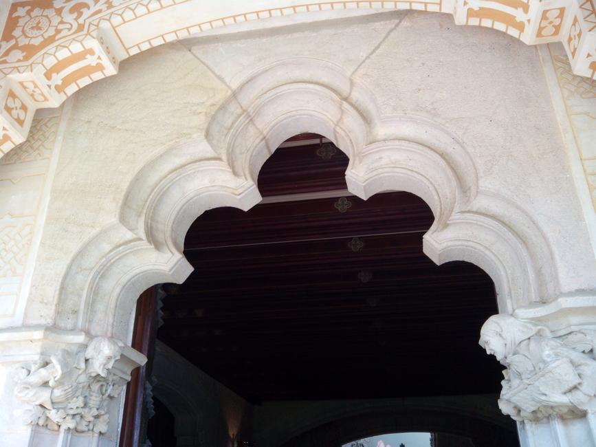 Can Garí entrance Hall