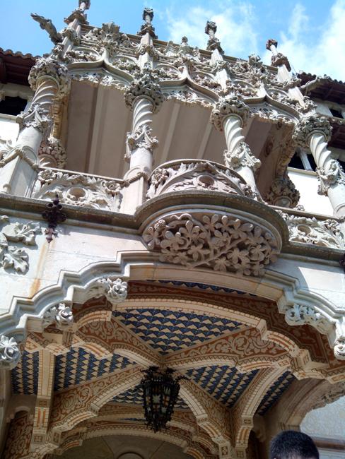 Can Garí stunning facade