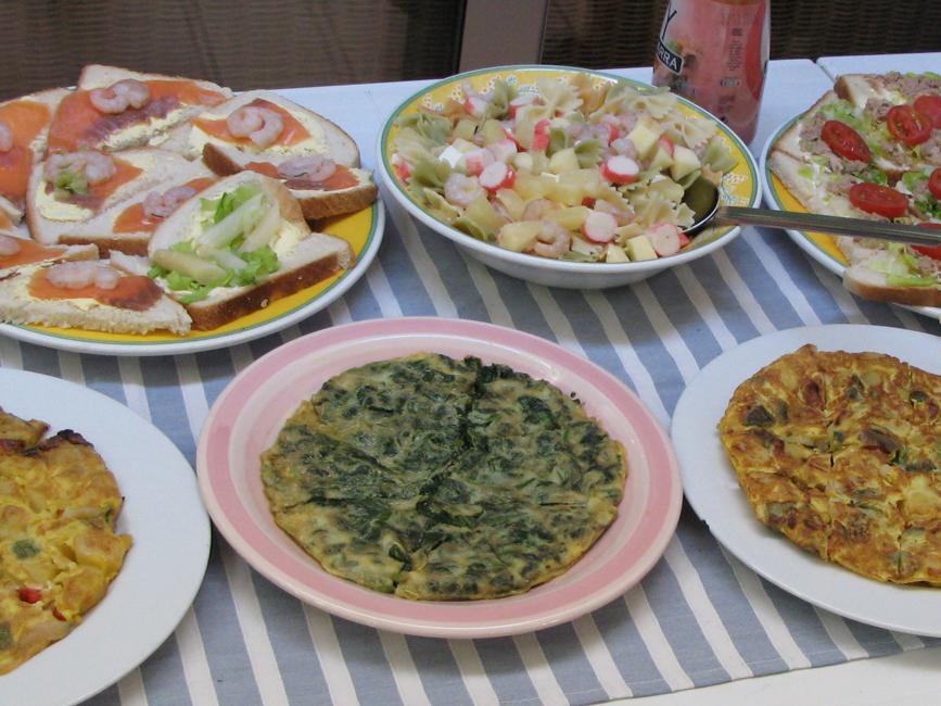 Pre-Tapas Omelettes