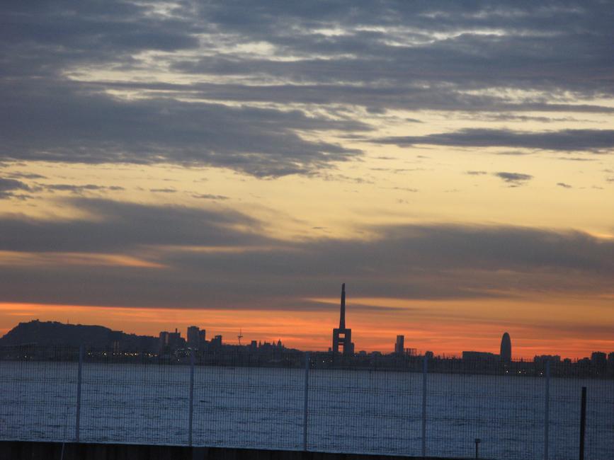 Barcelona frontline view