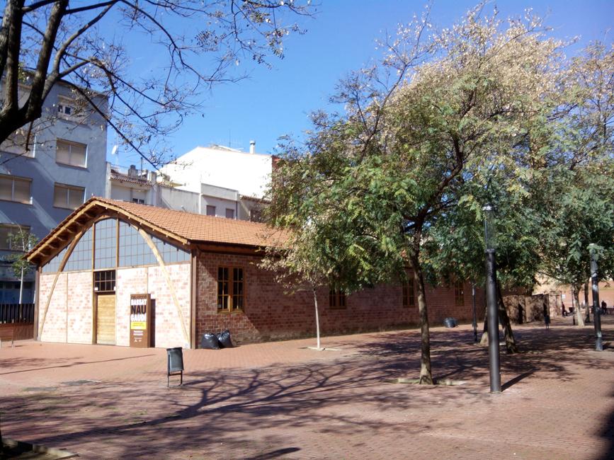 Nau Gaudi's exterior