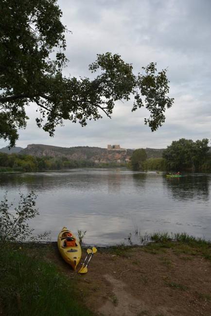 Before kayaking direction Benifallet