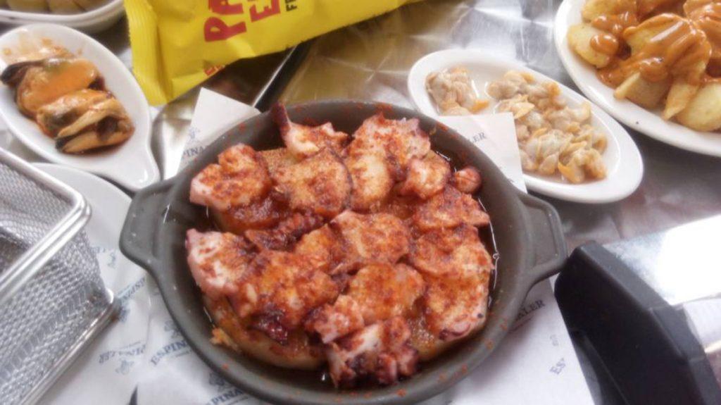 Octopus 'a la gallega'